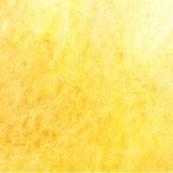 Bakgrund för vattenfärggulingtextur Royaltyfri Bild