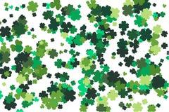 Bakgrund för vektor för dag för St Patrick ` s design tecknad elementhand För inbjudan kort också vektor för coreldrawillustratio arkivfoto