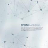 Bakgrund för vektor för abstrakt begrepp för samhällenätverksstruktur stock illustrationer