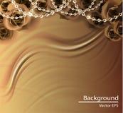 Bakgrund för vektor för torkduk för abstrakt vektorbakgrund lyxig Royaltyfri Bild