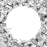 Bakgrund för vektortappningnatur Royaltyfri Bild