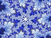Bakgrund för vinternattsnö Abstrakta Aqua Blue White Christma Arkivbilder