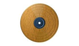 Bakgrund för vinylrekord, illustration Royaltyfri Fotografi