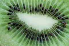 Bakgrund för vitamines för Kiwi Fruit Vegetable veggiemakro royaltyfri foto