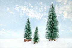 Bakgrund för vykort för glad jul för tappning royaltyfria foton