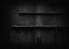 Bakgrund för yttersida för metall för Grungerostsvart Royaltyfria Foton