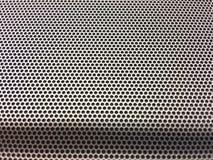 Bakgrund för yttersida för prick för svart hål för metall Fotografering för Bildbyråer