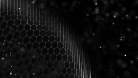 Bakgrund f?r Digital teknologi Ljus anslutningsstruktur Medicinskt teknologibegrepp Aff?r teknologibakgrund royaltyfri bild