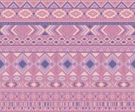 Bakgrund f?r vektor f?r amerikanska indiska motiv f?r modell stam- etniska geometrisk vektor illustrationer