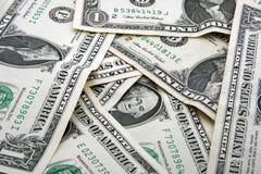 bakgrund fakturerar dollaren Royaltyfri Fotografi