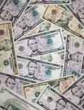 bakgrund fakturerar dollaren Arkivbild