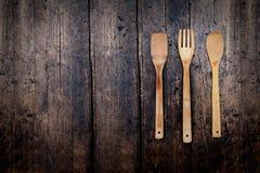 bakgrund forks utensilwhite för kök sex Arkivfoto