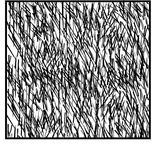 Bakgrund från borsteslaglängder Arkivbild