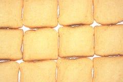 Bakgrund från bröd Arkivbild