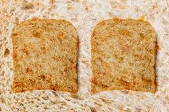 Bakgrund från bröd Arkivfoton