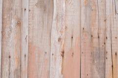 Bakgrund från bruna träbräden med textur Arkivfoton