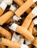 Bakgrund från cigaretter Royaltyfri Bild