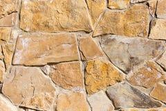Bakgrund från mosaikväggen med tegelstenar Royaltyfria Foton