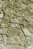 Bakgrund från mosaikväggen med tegelstenar Arkivbilder