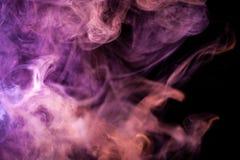 Bakgrund från röken av vape arkivfoton