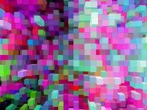 Bakgrund från remsor av olika färger Royaltyfria Foton