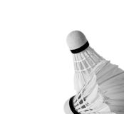 Bakgrund från shuttlecock två av monokromen royaltyfri foto
