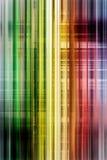 Bakgrund för regnbågehastighetssuddighet Arkivbild