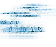 Bakgrund för teknologi för abstrakt begrepp för Digital kodnummer Royaltyfria Foton