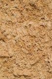 Bakgrund för textur för lerajord, torkad yttersida Arkivbilder