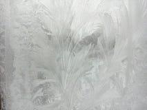 Bakgrund frostigt som är härlig, natur, abstrakt begrepp, vinter, jul, förkylning, fönster, is som är delikat, modell, textur, lj arkivbilder