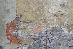 Bakgrund - gammal vägg arkivbild