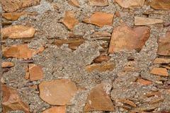 Bakgrund - grungestenvägg Arkivfoto