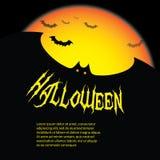 bakgrund halloween royaltyfri illustrationer