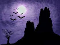 bakgrund halloween Royaltyfria Foton