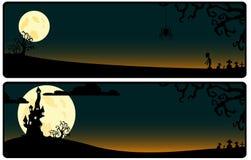 bakgrund helloween Arkivfoto