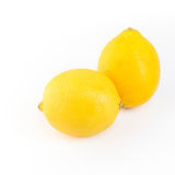 bakgrund isolerad citronwhite Med den snabba banan Arkivbild