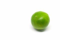 bakgrund isolerad limefruktwhite royaltyfria bilder