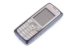 bakgrund isolerad mobil telefonwhite Royaltyfri Foto