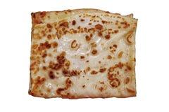 bakgrund isolerad pannkakawhite Arkivbild