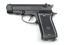 bakgrund isolerad pneumatisk white för pistol Fotografering för Bildbyråer