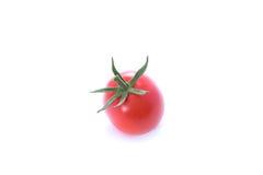 bakgrund isolerad röd tomatwhite Royaltyfri Bild