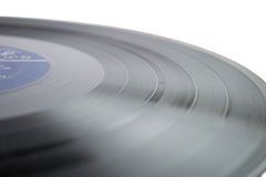 bakgrund isolerad registrerad vinylwhite Arkivbilder