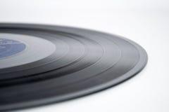 bakgrund isolerad registrerad vinylwhite Royaltyfria Bilder