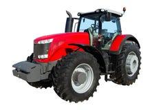 bakgrund isolerad traktorwhite Royaltyfria Bilder