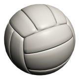 bakgrund isolerade volleybollwhite Arkivbilder