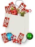 Bakgrund julen av försäljningen Arkivbilder