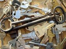 bakgrund keys trä Arkivbild