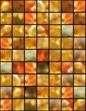 bakgrund kvadrerad färgad lampa stock illustrationer