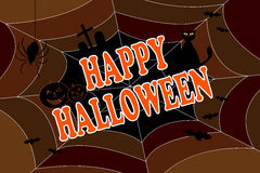 bakgrund lyckliga halloween Arkivbild