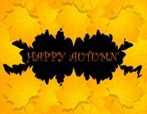 bakgrund lyckliga halloween vektor Royaltyfri Fotografi
